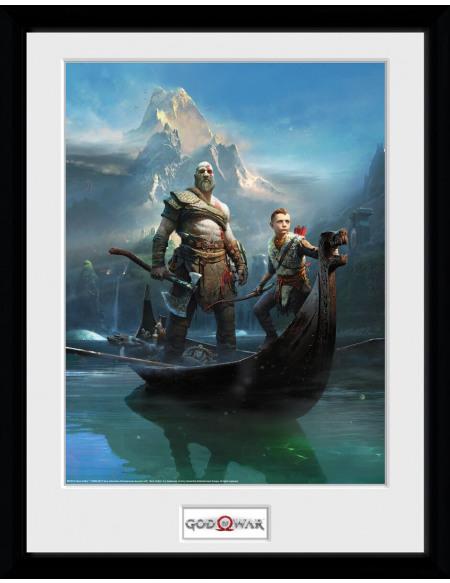 God Of War Key Art Photo encadrée Standard