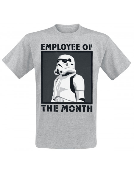 Star Wars Employee Of The Month T-shirt gris chiné