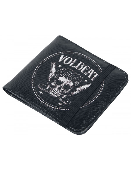 Volbeat Made In Portefeuille noir