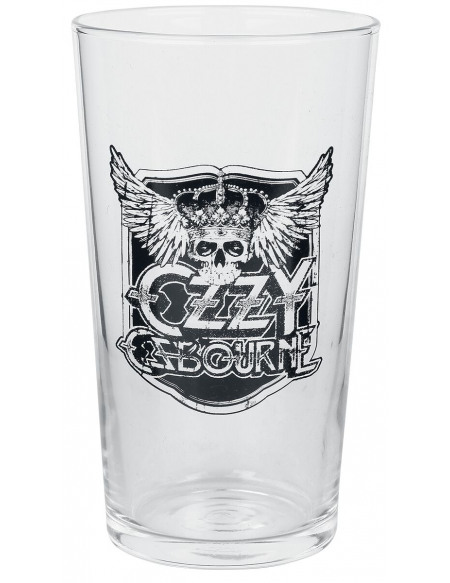 Ozzy Osbourne Crest Verre à pinte transparent