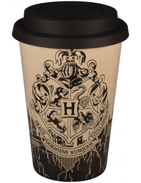 Harry Potter Poudlard - Mug De Voyage Mug isotherme beige