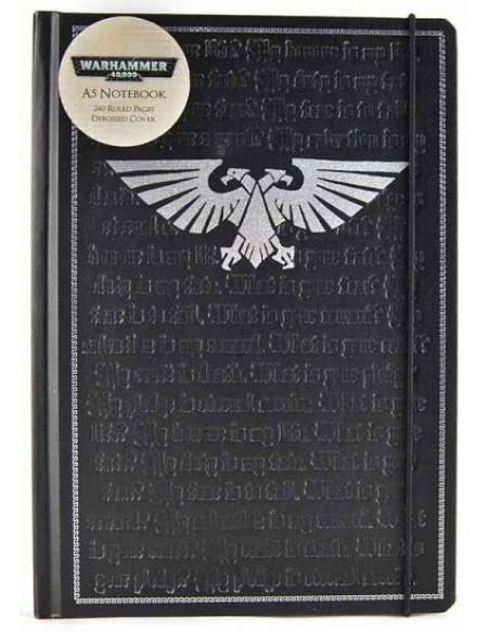 Warhammer 40.000 Carnet Pledge Cahier noir/argent