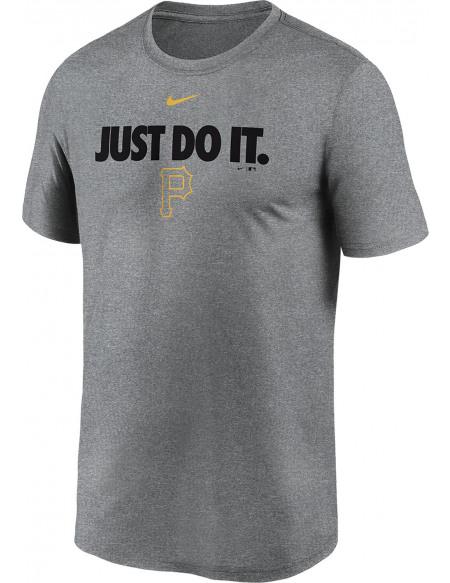 MLB Nike - Pittsburgh Pirates Legends T-shirt gris sombre chiné