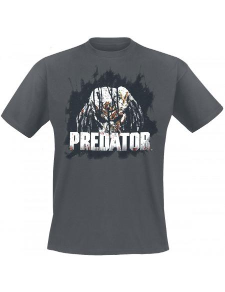 Predator Tête T-shirt gris
