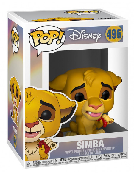 Le Roi Lion Simba - Funko Pop! n°496 Figurine de collection Standard