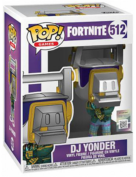 Fortnite DJ Lama - Funko Pop! n°512 Figurine de collection Standard