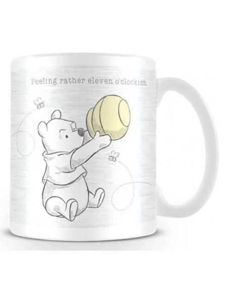 Winnie Puuh Eleven o'clockish Mug multicolore