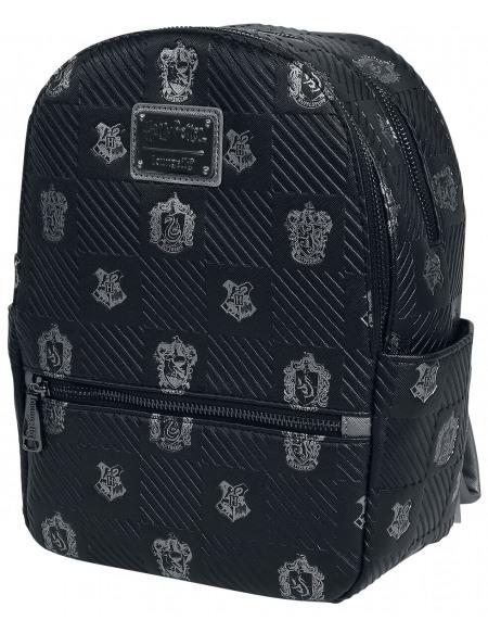 Harry Potter Loungefly - Maisons Sac à Dos noir