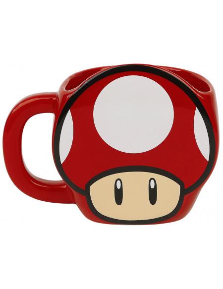 Super Mario Super Mushroom Mug rouge/blanc
