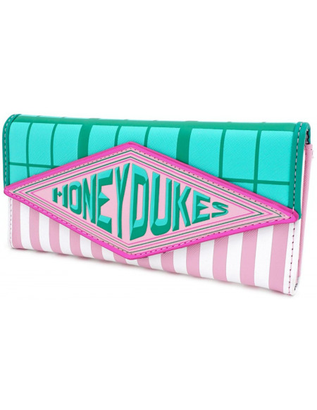 Harry Potter Loungefly - Honeydukes Portefeuille rose/vert clair