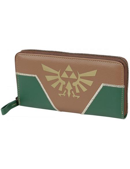The Legend Of Zelda Triforce Portefeuille vert/marron