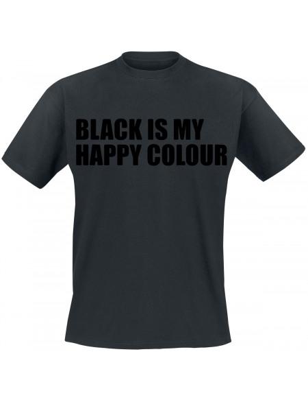 Black Is My Happy Colour T-shirt noir