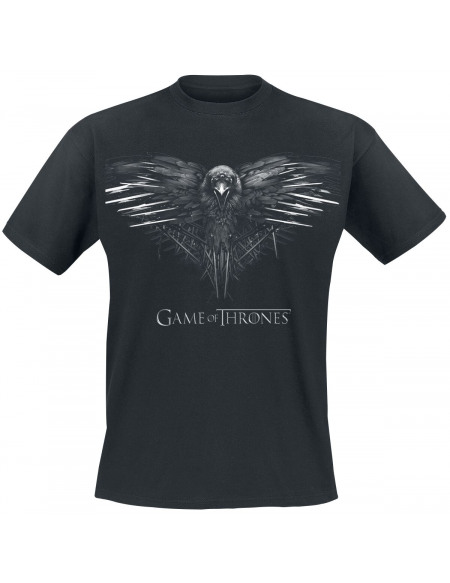 Game Of Thrones Crow T-shirt noir