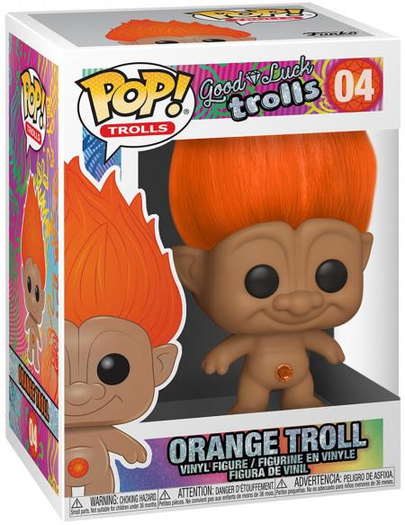 Trolls Troll Orange - Funko Pop! n°04 Figurine de collection Standard