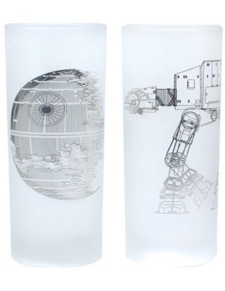 Star Wars Death Star & AT-AT Set verres multicolore