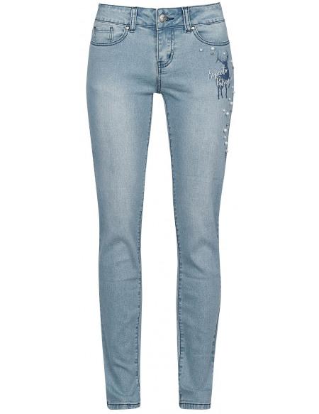 Harry Potter Patronus Pantalon Femme jean/bleu