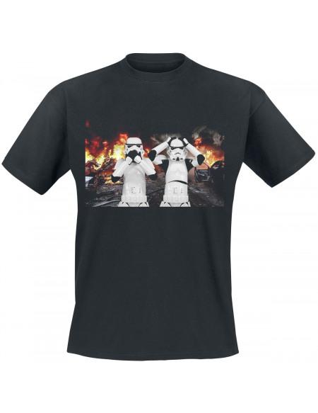 Original Stormtrooper Chaos T-shirt noir