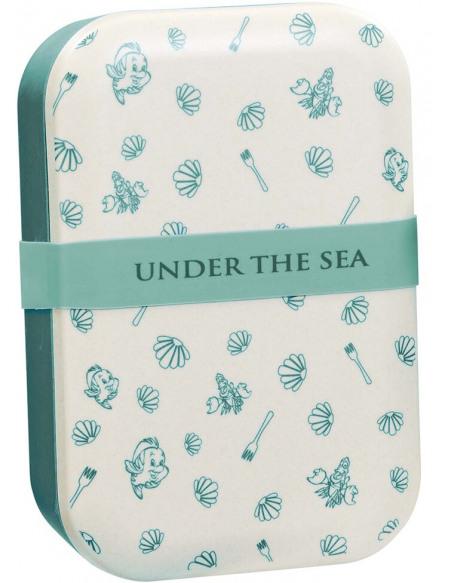La Petite Sirène Under The Sea Boite repas multicolore