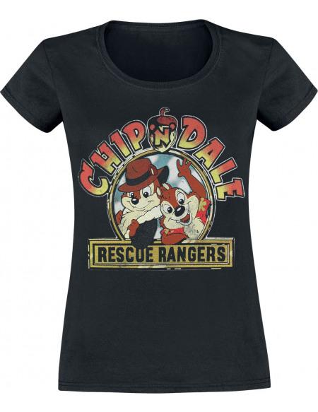Tic & Tac Rangers Du Risque - Logo T-shirt Femme noir
