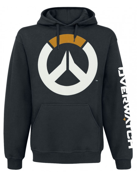 Overwatch Logo Sweat à capuche noir
