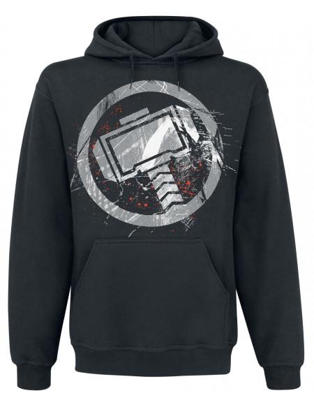 Avengers Endgame - Thor - Logo Sweat à capuche noir