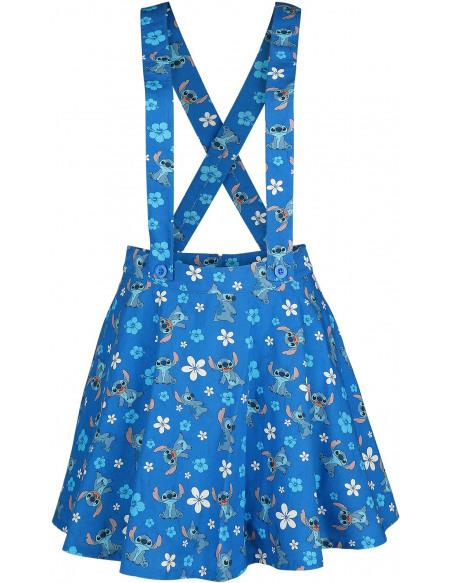Lilo & Stitch Fleurs Jupe bleu