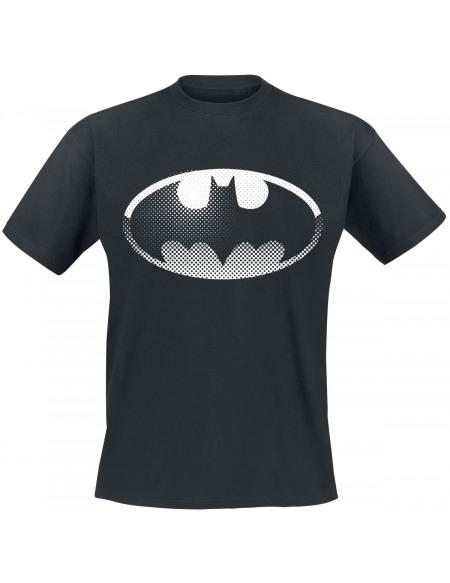 Batman Spot Logo T-shirt noir