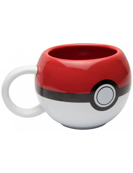 Mug 3D Pokémon - Pokéball 300ml