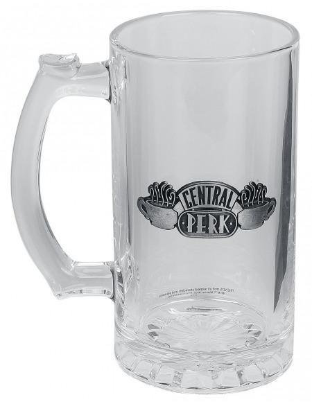 Friends Central Perk Chope à bière transparent