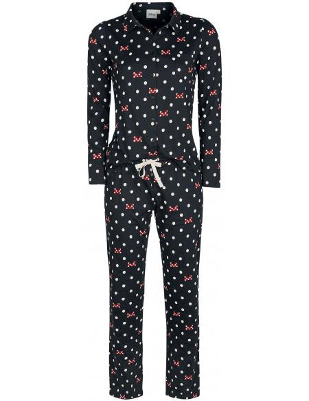 Mickey & Minnie Mouse Minnie Mouse - Pois & Nœuds Pyjama noir