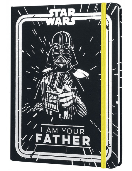 Star Wars I Am Your Father Cahier noir