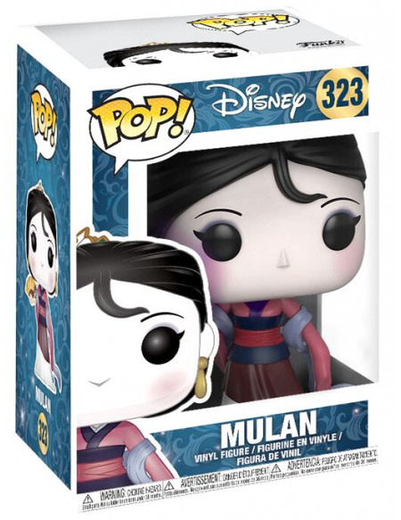 Mulan Mulan Vinyl Figure 323 Figurine de collection Standard