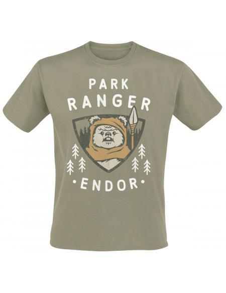 Star Wars Park Ranger T-shirt kaki