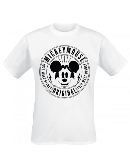 Mickey & Minnie Mouse Original T-shirt blanc