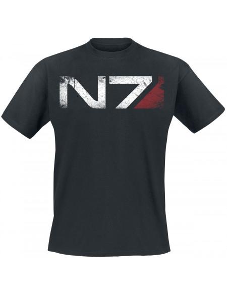 Mass Effect Andromeda - N7 T-shirt noir