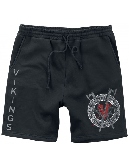 Vikings Odin Short noir