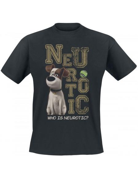 Comme Des Bêtes Max - Neurotic T-shirt noir