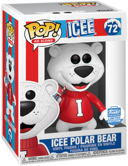 Funko Pop! Ad Icons - Ours Polaire Icee (Funko Shop Europe) - Funko Pop! n°72 Figurine de collection Standard