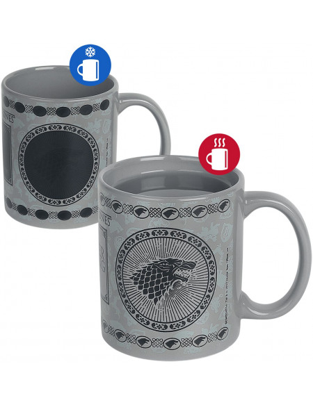 Game Of Thrones Maison Stark - Mug Thermoréactif Mug multicolore