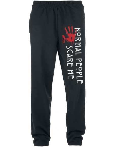 American Horror Story Normal People Pantalon de Jogging noir