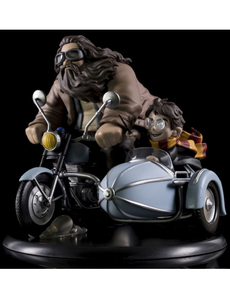Harry Potter Figurine Q-Pop MAX (Diorama) Harry Potter Et Rubeus Hagrid Figurine de collection Standard