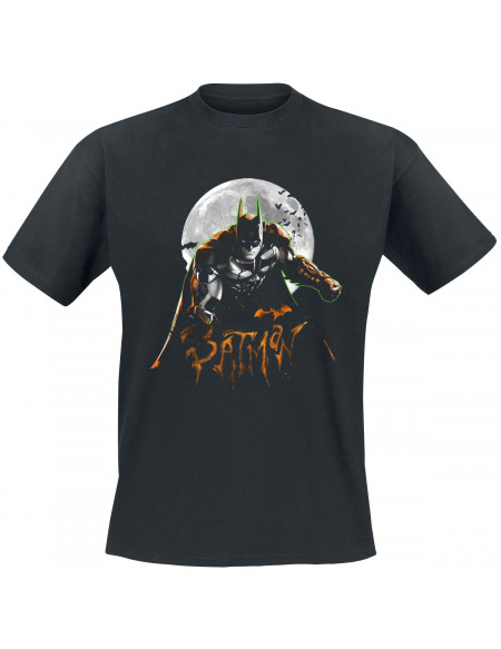 Batman Pleine Lune T-shirt noir