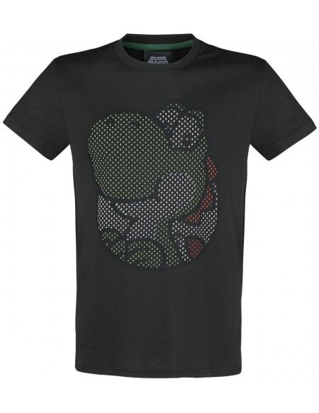 Super Mario Yoshi T-shirt noir
