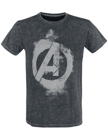 Avengers Earth's Mightiest Heroes T-shirt noir