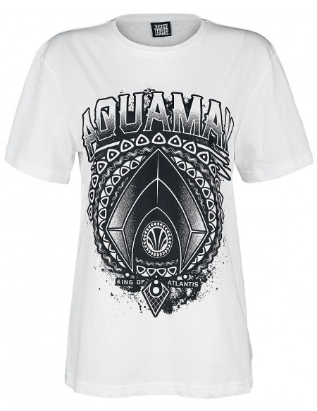 Aquaman King Of Atlantis T-shirt Femme blanc