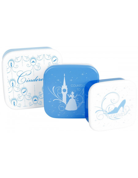 Cendrillon Cinderella Boîte repas bleu