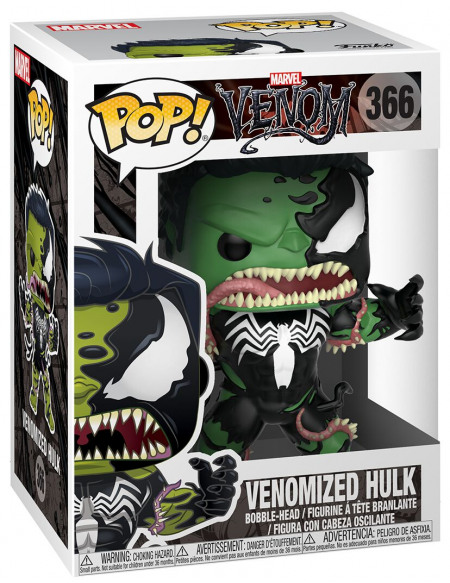 Venom (Marvel) Hulk (Venomized) - Funko Pop! n°366 Figurine de collection Standard