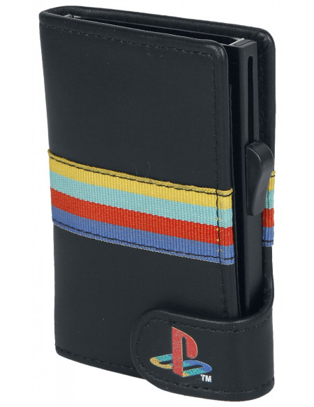 Playstation Persona 5 - Shujin Academy Porte-cartes noir
