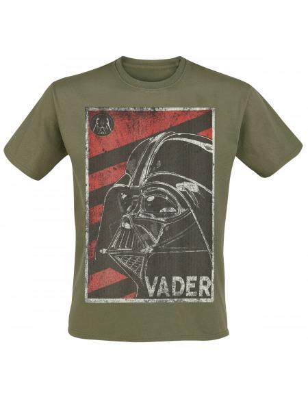 Star Wars Vador - Propagande T-shirt vert
