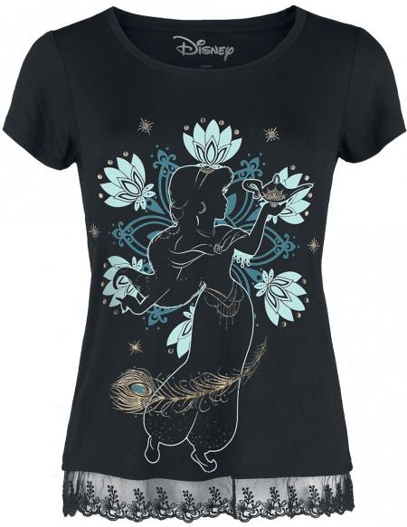Aladdin Jasmine T-shirt Femme noir